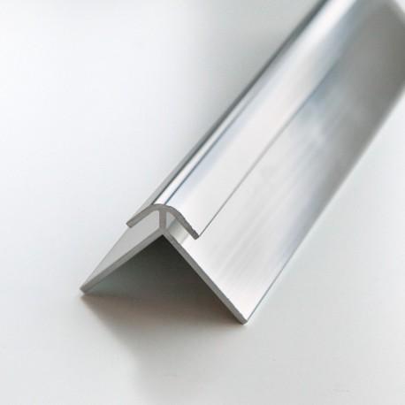 Profilé d'angle extérieur 240cm brillant