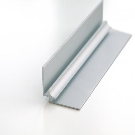 Profilé d'angle intérieur 300cm mat