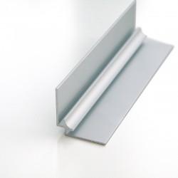Profilé d'angle intérieur 240cm mat