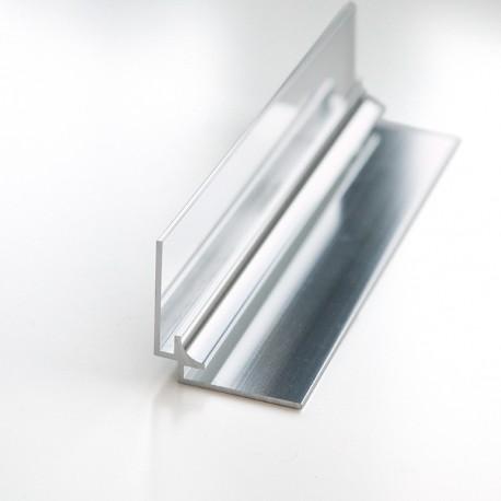Profilé d'angle intérieur 240cm brillant