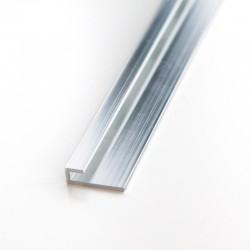 Profilé de fermeture 240cm brillant