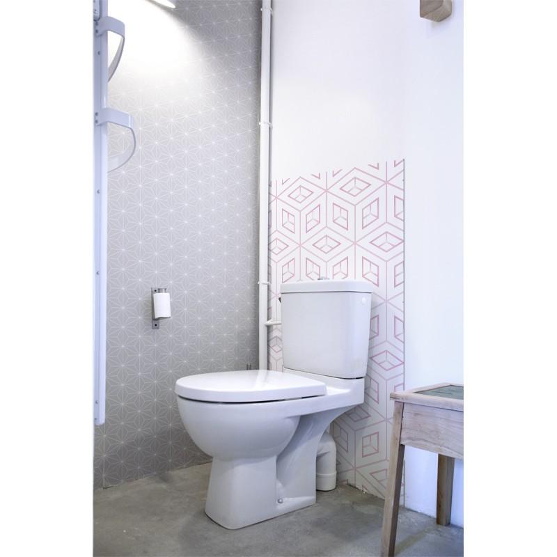 revetement mural wc photos de conception de maison