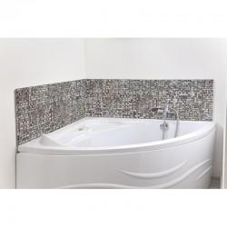 cr dence de baignoire balneo mosaique marocaine argent e revetement baignoire theme voyage maroc. Black Bedroom Furniture Sets. Home Design Ideas