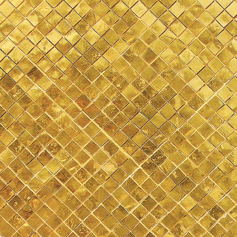Mosa que dor e sur mesure cr dence plan de travail style industriel - Mosaique doree ...