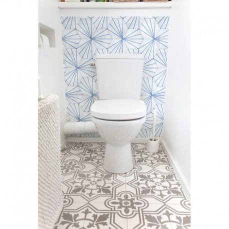cr dence de wc salle de bain hygge sur mesure rev tement mural wc style scandinave. Black Bedroom Furniture Sets. Home Design Ideas