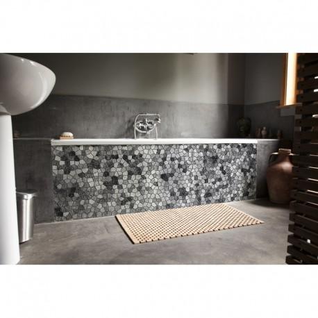 cr dence de baignoire byzance gris rev tement baignoire. Black Bedroom Furniture Sets. Home Design Ideas