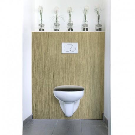 cr dence de wc or bross sur mesure rev tement mural wc style tendance. Black Bedroom Furniture Sets. Home Design Ideas