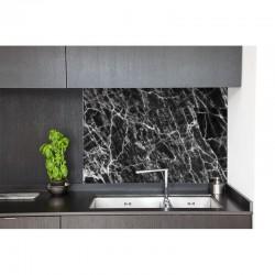 Marble effect black - sur mesure