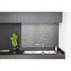 cr dence cuisine hotte alu bross cr dence hotte cuisine mati res. Black Bedroom Furniture Sets. Home Design Ideas