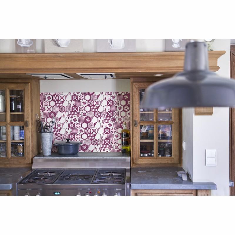 cr dence hotte tomettes violine cr dence cuisine hotte style r tro. Black Bedroom Furniture Sets. Home Design Ideas