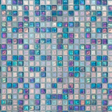 Mosaïque marocaine bleue