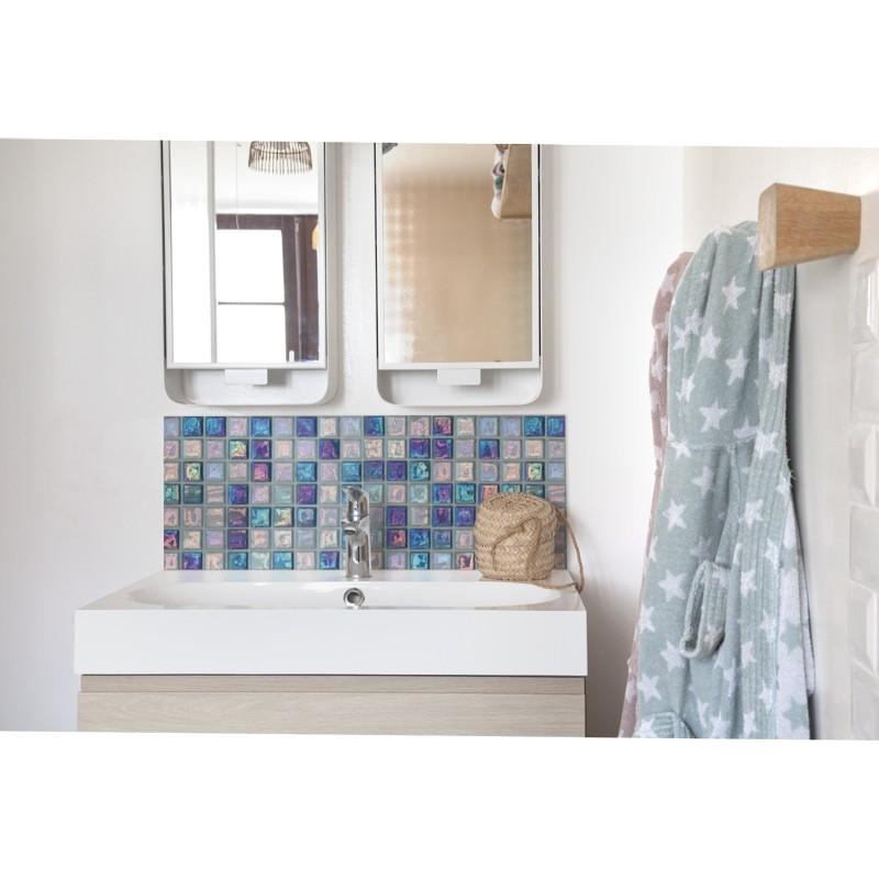 Crédence Salle de bain - Black & White - Mosaïque marocaine ...
