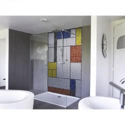 Mondrian mosaïque