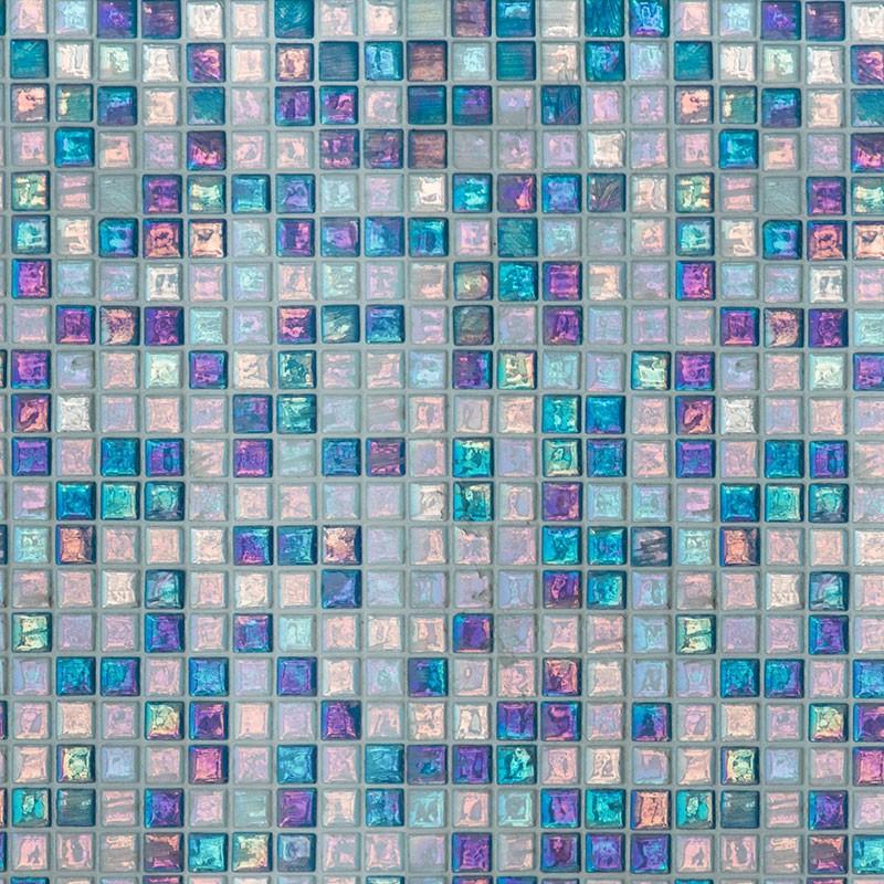 cr dence de wc mosa que marocaine bleue sur mesure revetement mural salle de bain wc th me voyage. Black Bedroom Furniture Sets. Home Design Ideas
