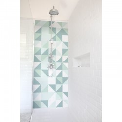 panneaux de douche deco k. Black Bedroom Furniture Sets. Home Design Ideas