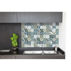 cr dence evier cr dence murale cuisine style retro deco k. Black Bedroom Furniture Sets. Home Design Ideas