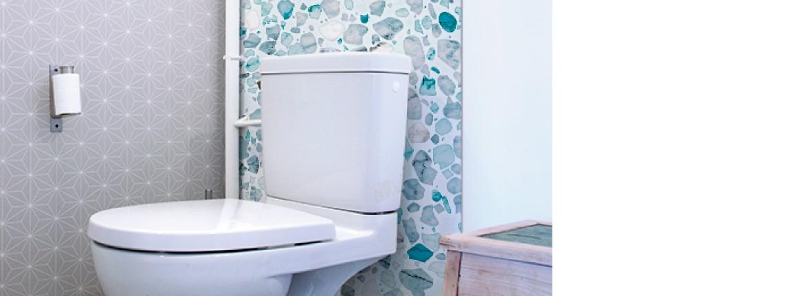 Crédence WC Venise Aigue-marine