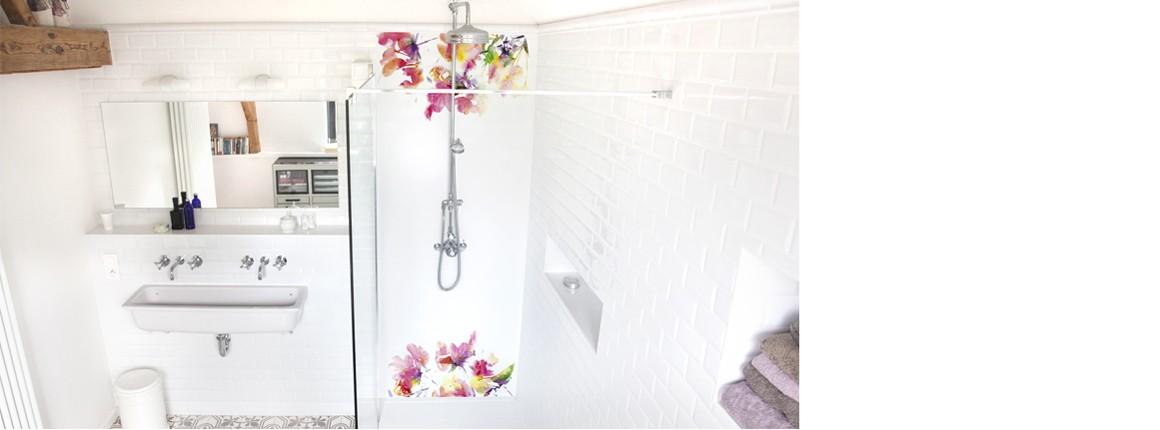 Panneau de douche Fraîcheur printannière